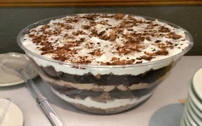 Chocolate Mousse Heath Bar Trifle using: Chocolate Mousse
