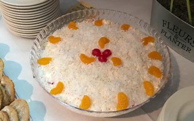Fruit Salad using: Orangesicle
